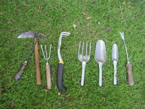 Weeding Tool Arsenal