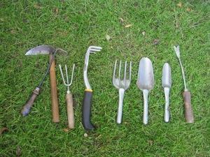 Weeding Tool Arsenal