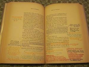 S. marginal notes