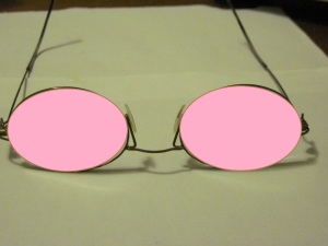 Rose coloured specs