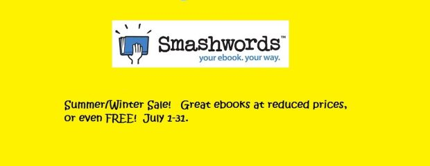 Smashwords Summer/Winter Sale 2016