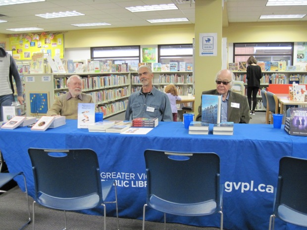 Local authors and their books.