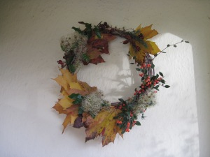 Autumn wreath, 2016
