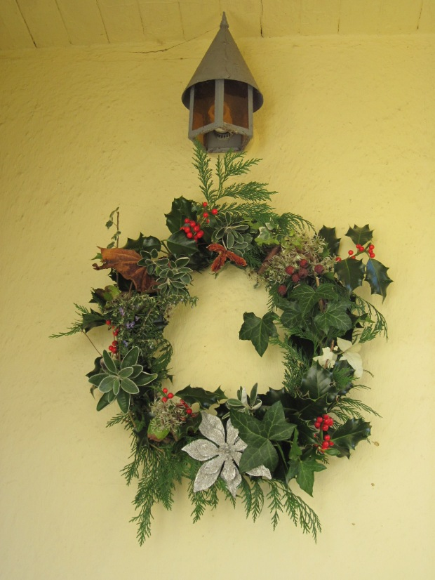 Christmas wreath, 2016