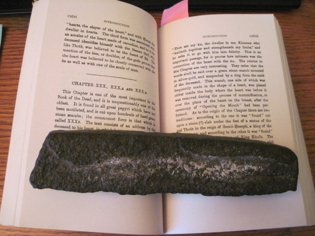 The Egyptian Book of the Dead and book rock
