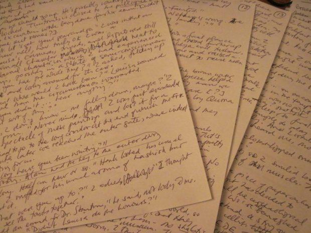 SWCF manuscript pages
