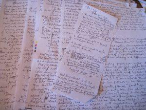 SWCF manuscript and notes