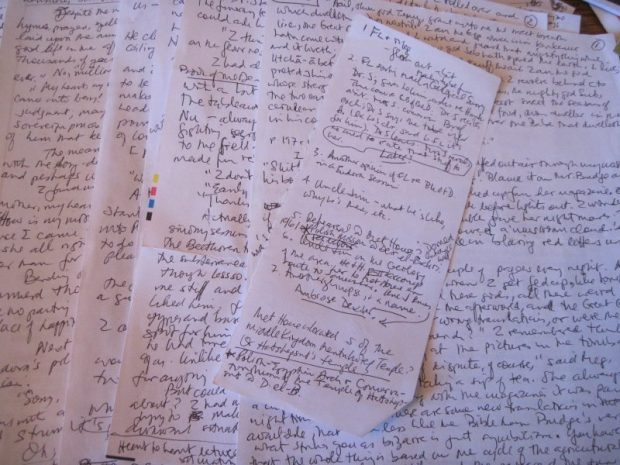SWCF manuscript and notes