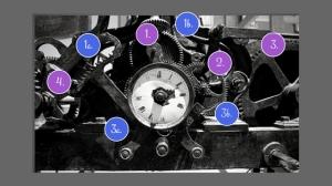 clock mechanism plus numbers
