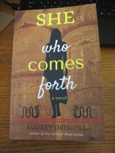She Who Comes Forth print book front cover