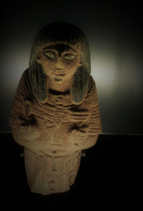 Shabti from RBCM Egypt exhibit 2018