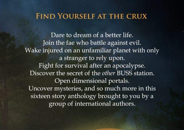 The Crux Anthology back cover description