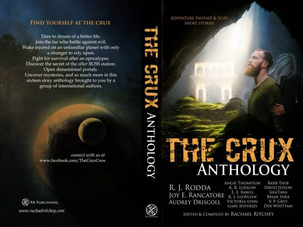 The Crux Anthology print cover