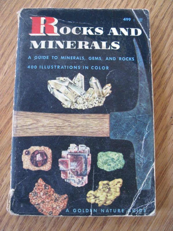 Cover of Rocks and Minerals guide (H.S. Zim, c1957)