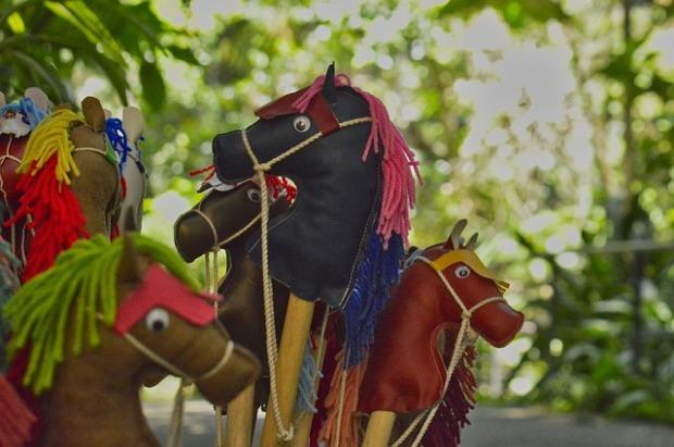 Toy horses, hobbyhorses