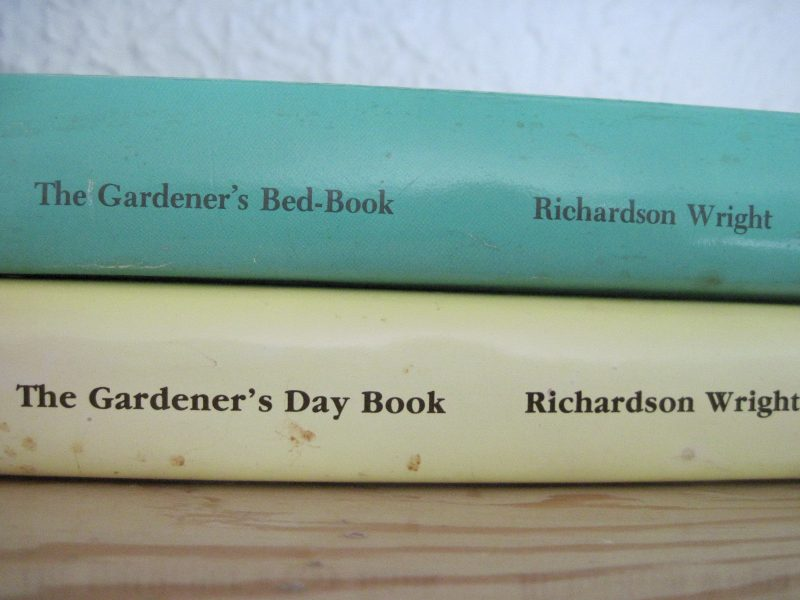 Spines of two books by Richardson Wright