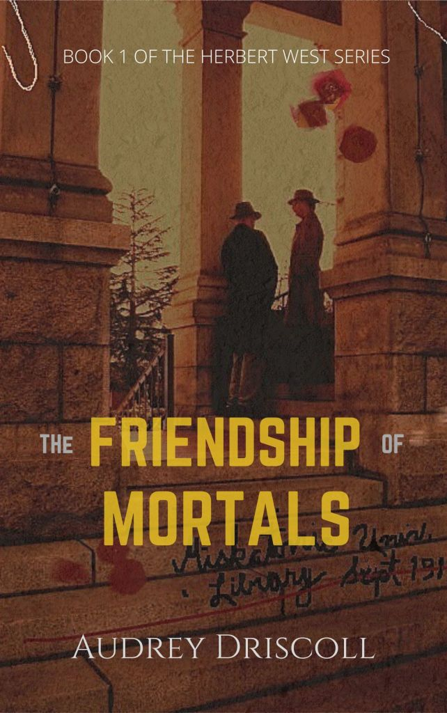 Alternate cover image for The Friendship of Mortals, created on a whim